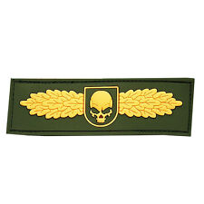 PATCH JTG 3D GOMME SWAT SKULL ANGEL OR PAINTBALL AIRSOFT MILITAIRE INSIGNE