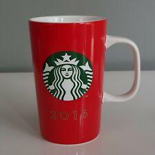 Starbucks 2016 Red Tall Mermaid Siren Tail Scales Coffee Tea Mug 335ml 12Fl Oz
