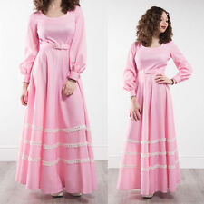 Long Sleeve Synthetic Casual Maxi Dresses for Women