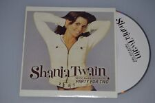 Shania Twain ‎– Party For Two. CD-SINGLE PROMO