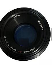 Minolta AF 50mm f/1.7 AF Lens