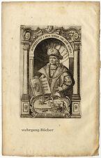 Hugibert I., Herzog von Bayern, Kupferstich von 1680