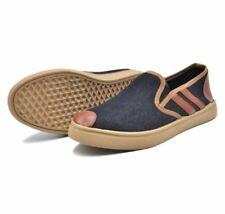 Rave YM6054 Slip-On Men's Shoes (black/brown)- SIZE 45