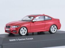 Scale model car 1:43, BMW 2er Coupe -red