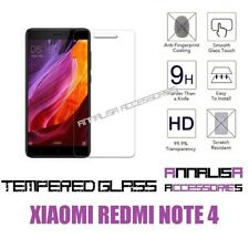 PELLICOLA VETRO TEMPERATO x XIAOMI REDMI NOTE 4 TEMPERED GLASS SCREEN PROTECTOR