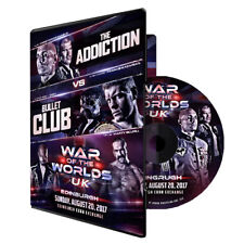 Official ROH Ring of Honor & NJPW War of the Worlds 2017 UK Edinburgh Event DVD