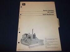 John Deere 6415 Bulldozer Parts Manual Book Catalog Pc-1237