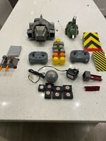 ROBOT WARS remote control toys Growler 2002 and sgt bash 1998 Plus Extras