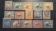 KENYA, TANGANYIKA and UGANDA CLASSICS 1938 between mi.nr. 52 and 68 w.m.4