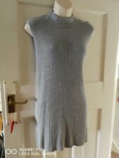 MARKS AND SPENCER GREY RIBBED Sleeveless Knit top - Size 22 BNWT PRETTY