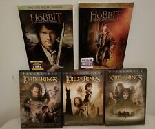 The Hobbit/The Lord Of The Rings (5) DVD Lot (Pre-Owned)