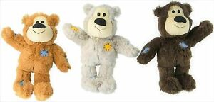 KONG WILD KNOTS BEAR EXTRA SMALL ALL VERSIONS BRAND NEW ONLY £6.49 FREE POST.