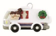 RV Couple Personalized Christmas Tree Ornament
