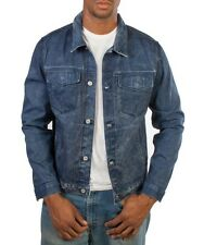 Nwt $298 7 for All Mankind Selvedge Denim Classic Jean Jacket ~Faded Blue *S