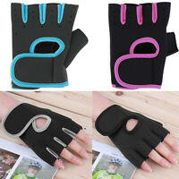 KQ_ Sport Fitness Cycling Gym Weightlifting Exercise Training Half Finger Gloves