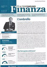 2015 03 17 - FINANZA  ALTROCONSUMO - 17 03 2015 - N.1117 - L'OMBRELLO