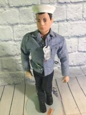 GI Joe Talking Action Sailor 1967 With Original Outfit And Display Stand!!!!!