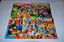 Conan The Barbarian 1 2 3 4 5 6 7 8 9 NICE Bronze Age Lot