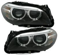 Projecteurs pour BMW F10 F11 10-13 AE LED Noir DRL Bi-Xenon CA LPBMI2WP XINO CA