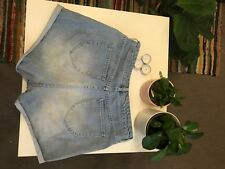 All About Eve High Waisted Denim Shorts Size 10