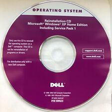 DELL Reinstallation CD Microsoft Windows XP Home Edition + Service Pack 1