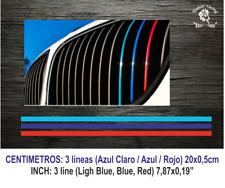 Sticker Rejilla BMW M Motorsport Vinilo Vinyl Decal Aufkleber Pegatina Adesivi