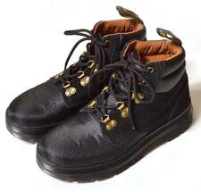 Dr Martens Rakim Boots Chukka Black Mesh Suede Work Mens 13 Women 14 Shoes Brass