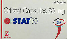 O-STAT-ObiNil-HS-Orlistat-60mg-10-Capsules-Ct-Weight-Loss-Fat-Burn-Diet FFS