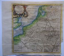 Antique map of the Germany, Belgium and Holland by Philip Cluver 1711