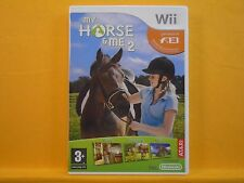 wii MY HORSE & And ME 2 An Equestrian Adventure Game Nintendo PAL UK Version