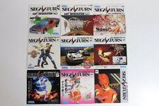 Lot of 9 Sega Saturn Game Soft Information Vol 1 ~ 9 Flyer Not For Sale Import