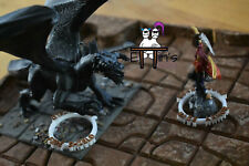 96 Spell Marker Rings with Colored Lettering for RPGs - 3d Printed to Order!