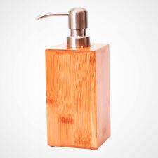 Bamboo Sanitizer/ Soap/ Shower gel Dispenser for Bathroom 300ml Liquid Dispenser