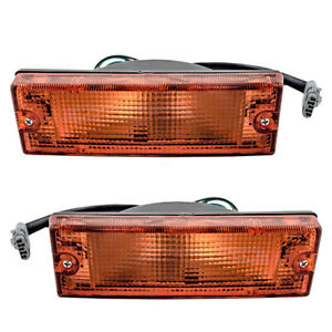 Fits Honda Isuzu Pickup Set Front Signal Marker Lights 8971735320 8971735310