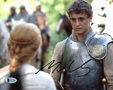 Max Irons The White Queen Authentic Signed 8x10 Photo Autographed BAS #D17200