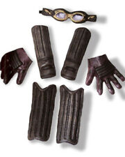 Harry Potter Quidditch Child Goggles Arm Guards Gloves And Leg Guards One Size