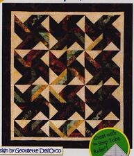 """Tradewinds - pieced quilt PATTERN for 2.5"""" strips - Cozy Quilts - 5 sizes"""
