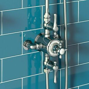 [65% OFF] The Bath Co. Camberley thermostatic exposed mixer shower: TRIPLE VALVE