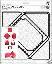 Xcut 1 pieza sobre Grande mueren. hace un uso Envolvente A6 o cualquier A4 máquina Xcut