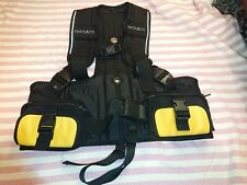 Seeman sub weight harness - individual pockets, used once size small medium