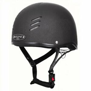 Gatehouse HS1 Vented/HS1-V Jockey Skull/Riding Hat Size 2.5/58cm Matt Black