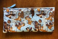 Disney Chip And Dale Chipmunk Handmade Pencil Case / Back To School Supplies