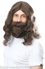 Parrucche e barbe marrone per carnevale e teatro Anni'60