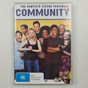Community Complete Second Season 2 DVD - Region 4 NTSC - TRACKED POST