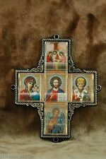 Church Cross Icon St Nicholas Holly Mary Jesus Chris Angel Holy Trinity Троица
