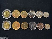 Namibia coin sets. 1 set of six coins. Unc