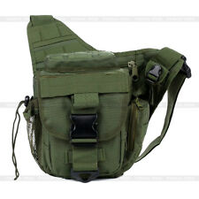 Molle Military Tactical Utility Shoulder Strap Camera Backpack Bag Pouch Outdoor