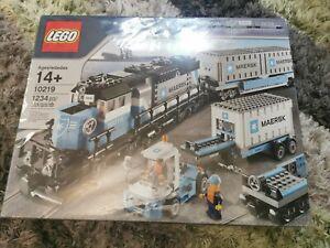 LEGO Trains Maersk Train (10219) Brand new Sealed