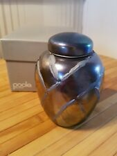 """●●BOXED VINTAGE POOLE POTTERY MINATURE GINGER VASE 541 of 5,000 """"FREE POST"""""""