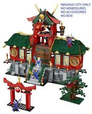 LEGO Ninjago 70728 Battle for Ninjago City Building + Terrace Only ~1000pcs